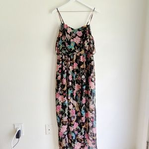 Xhilaration Paisley Off the Shoulder Maxi Dress
